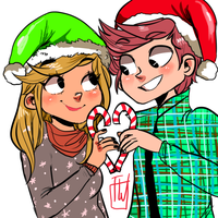 ych candycane share couple OPEN by temporaryWizard