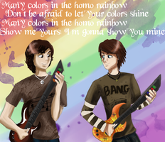 Homo Rainbow - contest entry by Michiko-laughs