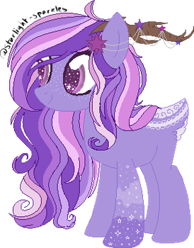 Star Deer Pony Auction by hiivelee