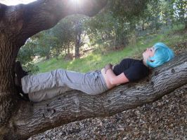 Sleeping on a tree by VemeaCosplay