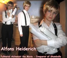 FMA Alfons Heiderich cosplay by MangaX3me