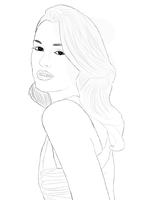 Leighton Meester by ClaCloud