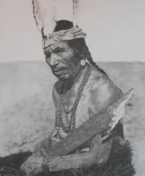 Piscattaway Chief by nbarbour