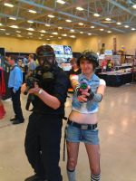 NF COmicon : Me and Tank Girl by TheWarRises