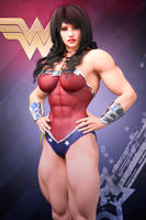 Wonder Woman by Nivilis