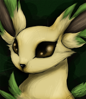 commish: Leafeon by Narsilion