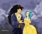 Fairy Tail - Beauty and the Beast by JeyHaily