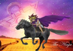 The Puzzle watches over Atem by ninja-starz2