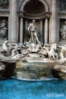 Fontana di Trevi by leire-and-Co