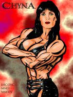 Chyna (Female Muscle on Television) by IHCOYC