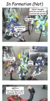 4koma - Grunts In Formation by blackdove77