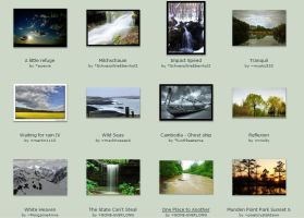 May Submissions: 5th-9th by Scapes-club