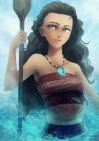 Moana by Br0ps
