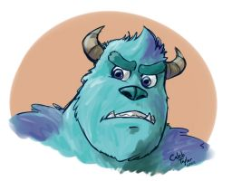 Sulley by KingdomBlade
