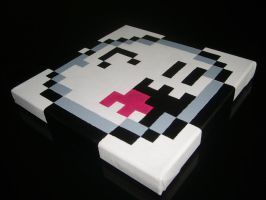 Boo Pixel Painting by ShampooTeacher