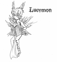 Lucemon by RazelDazel