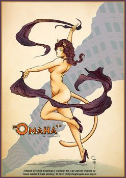 Omaha: The Cat Dancer by ChrisEvenhuis