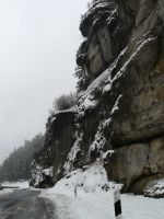 snow rock stock by Mihraystock