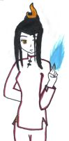 Azula's Blue Fire by fifthknown