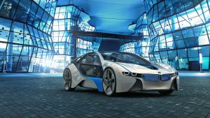 BMW Vision concept by maView