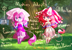 Common Mushies: 1# Adopts [OPEN} Closed species! by XxKEHD-HQxX