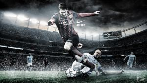 Lionel Messi Wallpaper by nirmalyabasu5