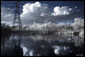 Electrical Landscape by crazy1ady