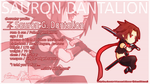 Sauron Dantalion Profile Wallpaper by PerseBalthasaar