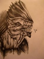 Mass Effect: Urdnot Wrex by Heroes-Die