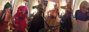 Kumoricon 2012 Costume Line-up by Eli-Cosplay