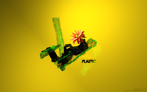 .PLASTIC wallpaper by ArinThoughts