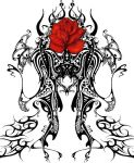 Blood Rose Tribal by gothicknight213