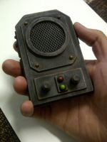 Steam punk communicator by Waileem