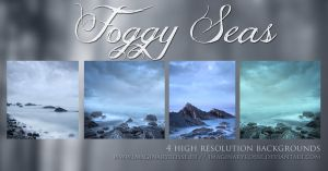 Foggy Seas Backgrounds by AndreeaRosse