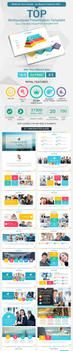 Top PowerPoint Presentation Template by yekpix