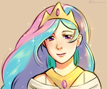 Celestia yay~ by magicalondine
