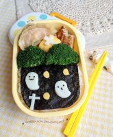 Halloween Bento lunch box 1 by loveewa