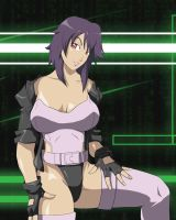 Ghost in the shell XD by Enres
