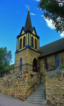 Central City CO church by finhead4ever