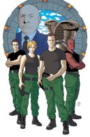 Stargate SG1 Color by JorgeCorrea