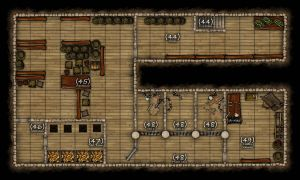 DND mansion map - Basement by r3v3r53d