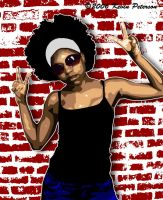 Afro Girl by theonejanitor