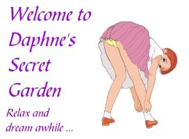 New welcome page by Daphnesecretgarden
