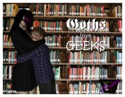 Lucky Nerds- Goths Love Geeks by ImfamousE