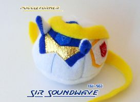 Puggleformer - Sir Soundwave by callykarishokka