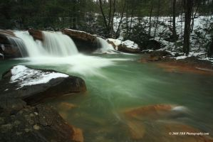Falling West Virginia Water by TRBPhotographyLLC