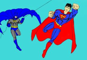 Worlds Finest-Classics WIP by dhbraley