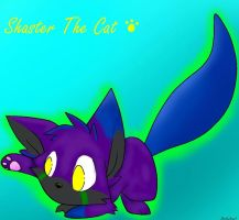 Gift: Shaster the cat by Cheshyerr