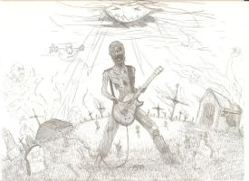 Zombie Rock by soccartist2