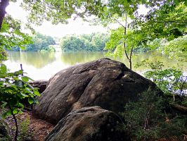 Lakeside Trail Rock Formation 05 by TemariAtaje